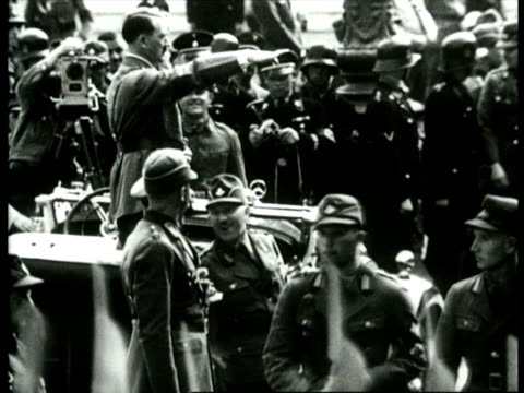 vidéos et rushes de congress of german nazi party / nuremberg germany - 1934