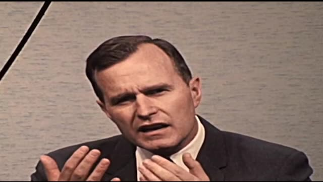 Congressman George H W Bush predicts there will be no tax legislation this congressional session
