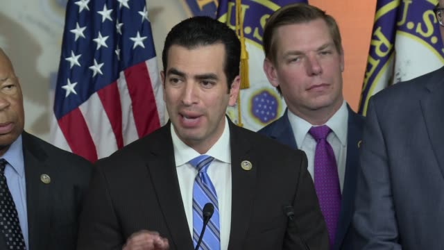 us congressman representative ruben kihuen democrat from nevada on why the investigation into russian meddling in the 2016 election must go forward... - 2012 united states presidential election stock videos & royalty-free footage