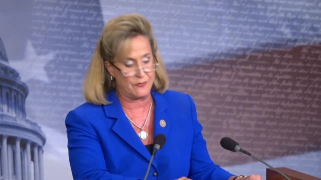 congresswoman ann wagner of missouri tells reporters at a press conference regarding new legislation on family leave that the united states is the... - newly industrialized country stock videos & royalty-free footage