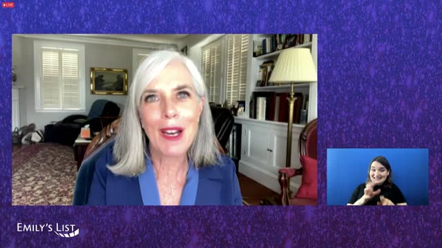 congresswoman katherine clark speaks during the emily's list fourth annual pre-oscars event on tuesday, april 20, 2021. - oscar party stock videos & royalty-free footage