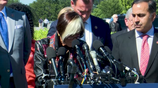 connecticut representative rosa delauro says at a press conference on youth vaping that she held an event at yale children's hospital where she... - vitamin d stock videos & royalty-free footage