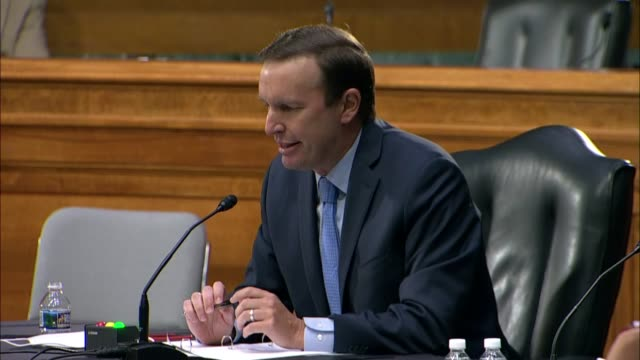 connecticut senator chris murphy says at a senate foreign relations committee hearing with secretary of state mike pompeo that russia had sought to... - legislator stock videos & royalty-free footage