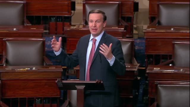 connecticut senator christopher murphy asks after president donald trump declared victory over terrorist group isis in a twitter video message and... - united states national team stock videos & royalty-free footage