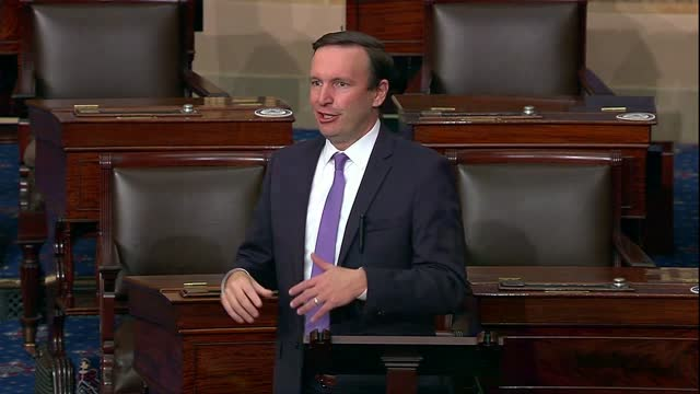 connecticut senator christopher murphy says a week after the 2020 election that republicans support president donald trump's refusal to concede in... - rebellion stock videos & royalty-free footage