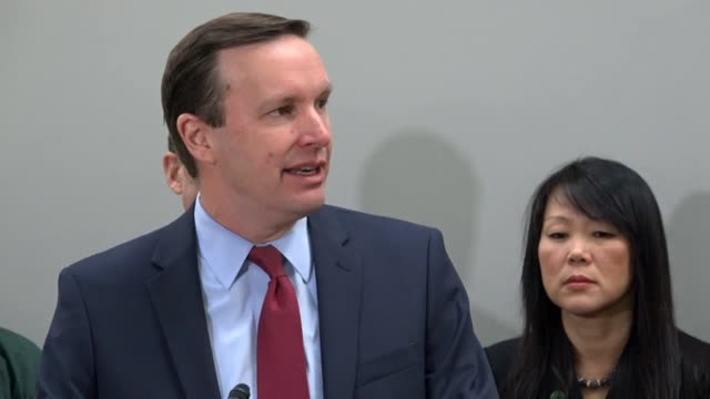 Connecticut Senator Christopher Murphy says at a news conference on gun violence that an epic social change was underway and none of consequence had...