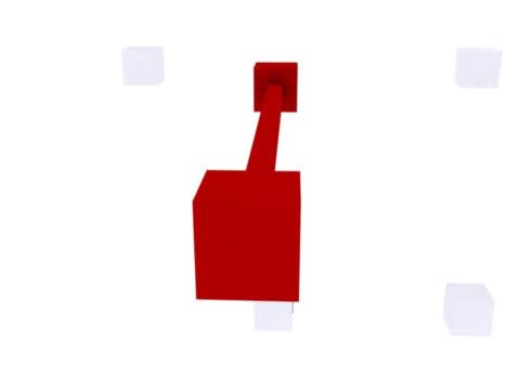 接続  - 立方体点の映像素材/bロール