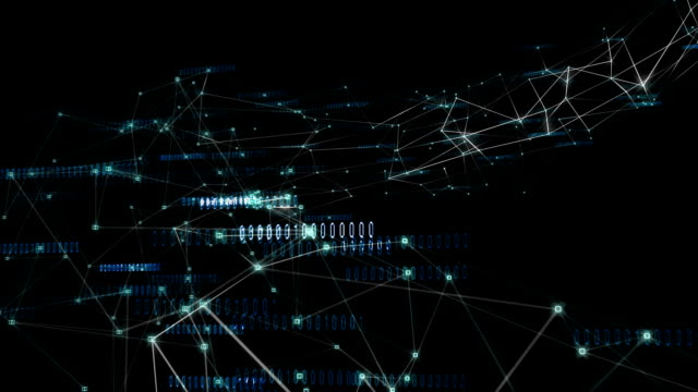 connections - binary code stock videos & royalty-free footage