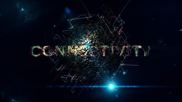 konnektivität matrix cube - strategy stock-videos und b-roll-filmmaterial
