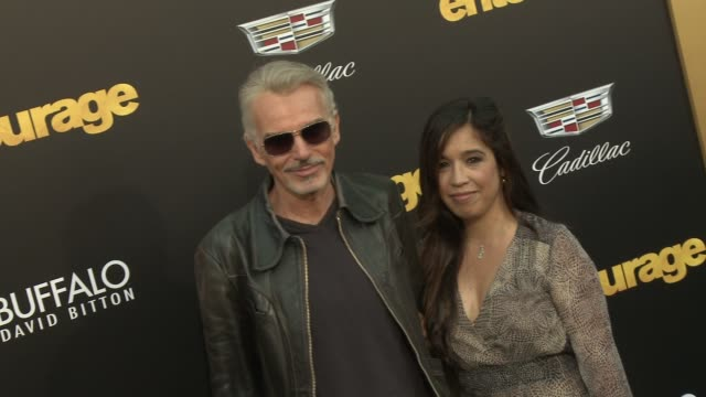 Connie Angland Billy Bob Thornton at Entourage Los Angeles Premiere at Regency Village Theatre on June 01 2015 in Westwood California