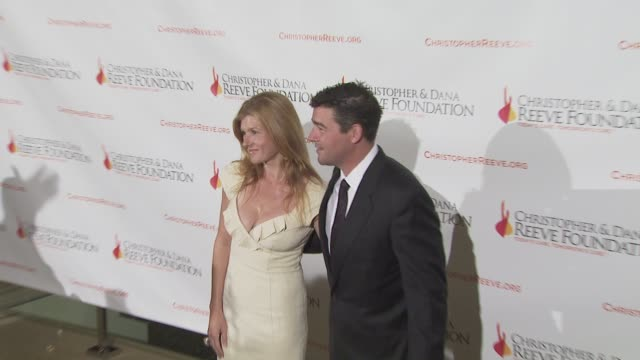 connie britton and kyle chandler at the 4th annual los angeles gala for the christopher dana reeve foundation at los angeles ca - christopher and dana reeve foundation stock videos and b-roll footage