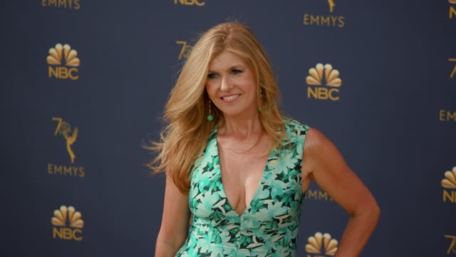 connie britton at the 70th emmy awards arrivals at microsoft theater on september 17 2018 in los angeles california - 70th annual primetime emmy awards stock videos and b-roll footage