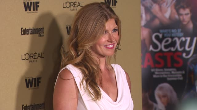connie britton at the entertainment weekly and women in film pre-emmy party at west hollywood ca. - pre emmy party stock videos & royalty-free footage