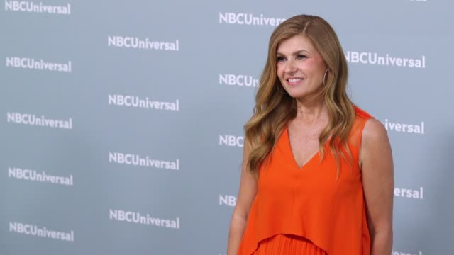 connie britton at the nbcuniversal's upfront presentation 2018 at radio city music hall on may 14, 2018 in new york city. - radio city music hall stock videos & royalty-free footage