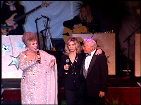 connie stevens at the thalians 46th annual ball at century plaza in century city, california on october 13, 2001. - thalians ball stock-videos und b-roll-filmmaterial