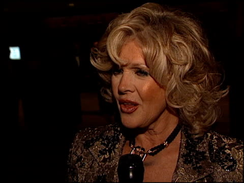connie stevens at the thalians 46th annual ball at century plaza in century city california on october 13 2001 - thalians annual ball stock videos & royalty-free footage