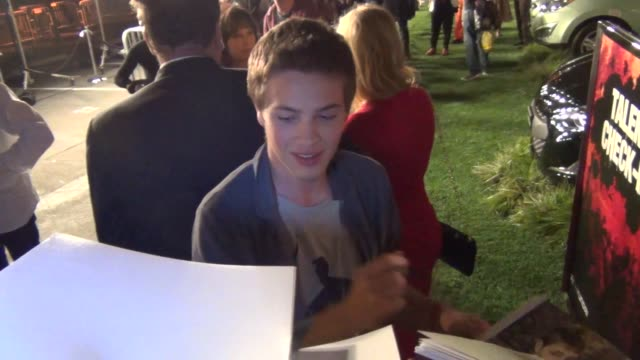 Connor Jessup greets fans at Celebrity Sightings ComicCon International 2013 Connor Jessup greets fans at Celebrity Sightings on July 19 2013 in San...