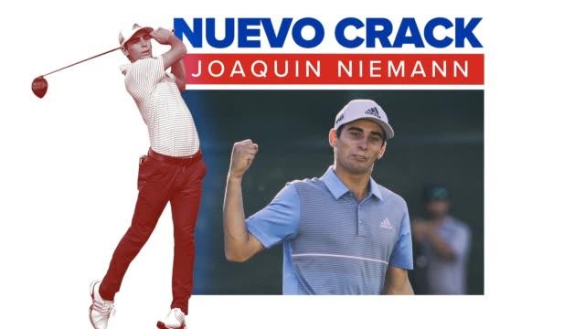 conozca a joaquin niemann, golfista profesional chileno que compite en el pga tour. - pga stock videos & royalty-free footage