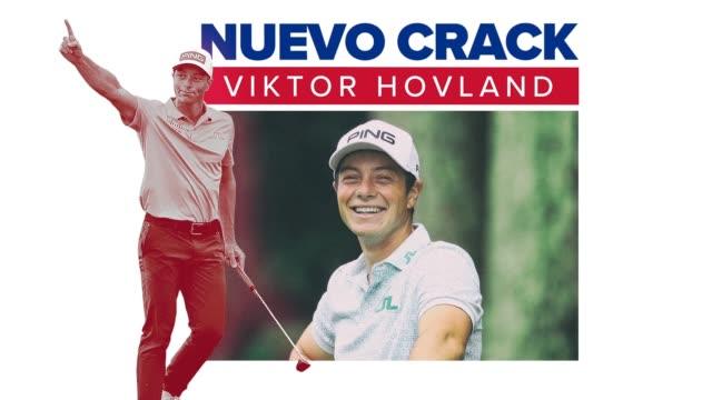 conozca a viktor hovland, un golfista profesional noruego que compite en el pga tour. - holing stock videos & royalty-free footage