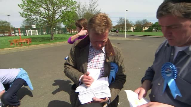 conservative candidate craig mackinlay charged over 2015 general election expenses t04051522 / tx ramsgate ext craig mackinlay holding election... - ramsgate stock videos and b-roll footage
