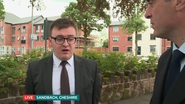 Boris Johnson pulls out of race ENGLAND Cheshire Sandbach EXT Councillor Martin Deakin LIVE interview SOT Councillor Mike Sewart LIVE interview SOT...