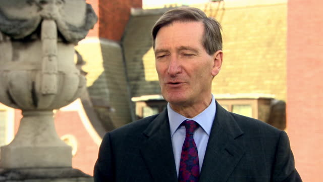 conservative mp dominic grieve advocating for a people's vote on brexit because the deal being presented is not what people expected - dominic grieve stock videos and b-roll footage