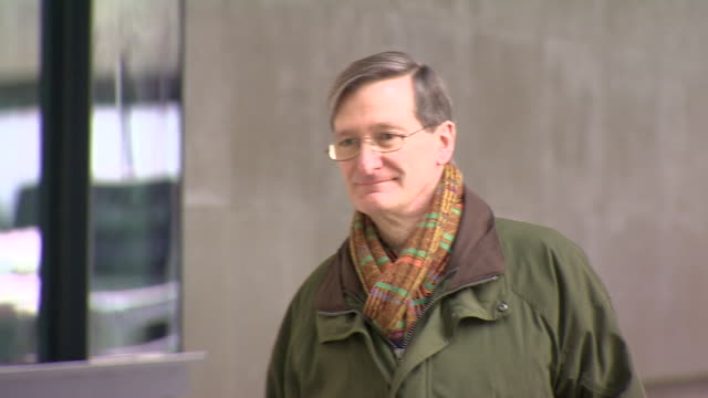 conservative mp dominic grieve arriving at bbc broadcasting house - dominic grieve stock videos and b-roll footage