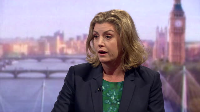 Conservative MP Penny Mordaunt saying that it is very likely Turkey will join the EU because of the migrant crisis