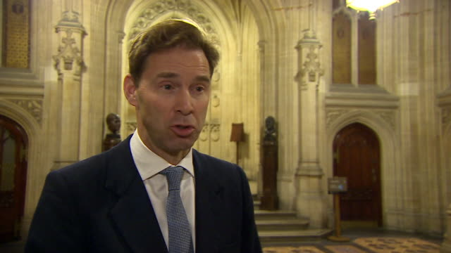 Conservative MP Tobias Ellwood saying the party is a 'broad church' but 'one group' is preventing the government getting a Brexit deal through