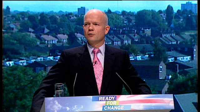 conservative party annual conference 2009: william hague speech; accountability also means that the rights and powers of the british people should... - new age stock videos & royalty-free footage