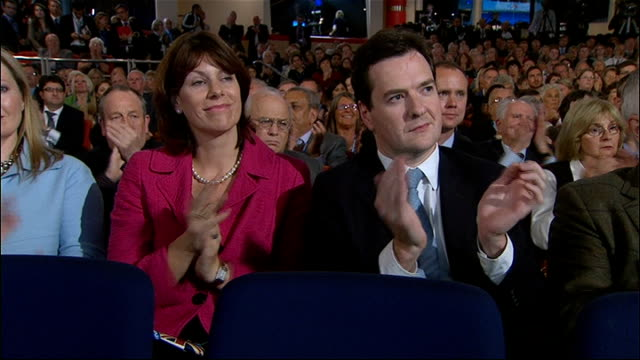 vidéos et rushes de conservative party conference 2010: william hague speech; hague speech sot - those of us who negotiated the coalition agreement in the cabinet office... - prime minister
