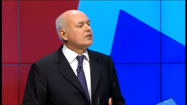 iain duncan smith speech the riots serve as a pertinent reminder to us about the deep and clear social problems our government inherited for before... - western europe stock videos & royalty-free footage