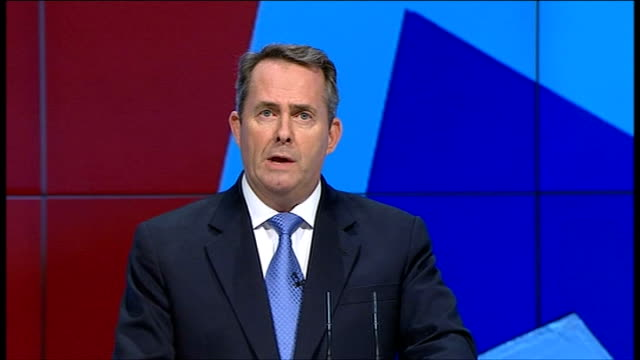 liam fox speech england manchester int liam fox introduced sot dr liam fox mp speech sot on the night of august 6th and for three further nights the... - after life stock videos & royalty-free footage