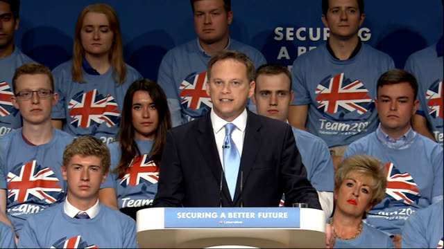 vídeos y material grabado en eventos de stock de conservative party conference 2014: rocky start to conference with resignation and ukip defection; grant shapps mp speech sot - we have been let down... - abandonar