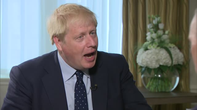 boris johnson interview england manchester int boris johnson interview sot on allegations he touched groped a woman during a work lunch it is not... - lunch stock videos & royalty-free footage