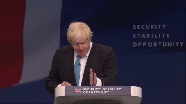 Boris Johnson and Zac Goldsmith speeches Boris Johnson speech SOT then you are doing something for fairness and for social justice and let me give...