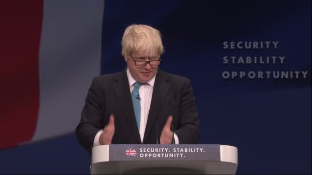 Boris Johnson and Zac Goldsmith speeches Boris Johnson speech SOT and you will loosen the bonds that should unite society if people feel that their...