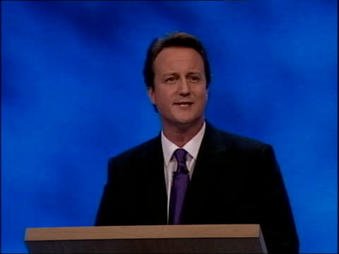 david cameron first speech labour were never going to win in 1983 when they offered michael foot as prime minister / other elections are wide open... - going round in circles stock videos and b-roll footage