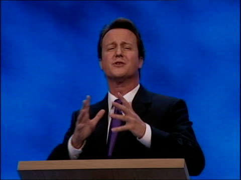 David Cameron first speech Think of any issue not just crime and then think of Labour's response / This Government's way of doing things the old way...