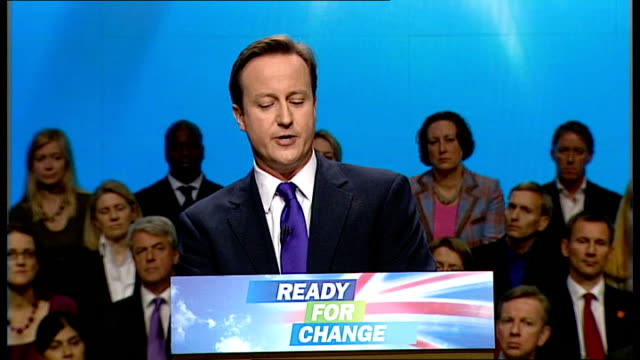 david cameron keynote speech david cameron speech continued sot so our method should be clear we send more soldiers to train more afghans to deliver... - keynote speech stock videos and b-roll footage