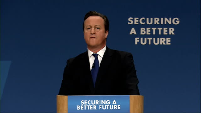 david cameron speech cameron speech sot they have opposed every change to welfare we've made and i expect they'll oppose this too they sit there... - working animals stock videos & royalty-free footage