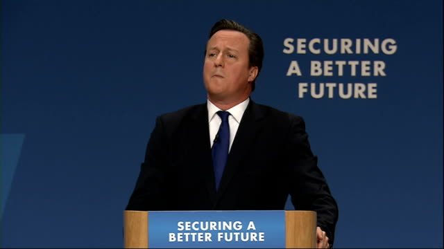david cameron speech cameron speech sot i'm the first prime minister to veto a treaty the first prime minister to cut the european budget and yes i... - human back stock videos & royalty-free footage