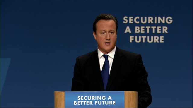 david cameron speech cameron speech sot they say that madness is doing the same thing over and over again but expecting different results well i say... - new age stock videos & royalty-free footage