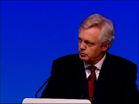 David Davis speech David Davis speech cont SOT The last great threat we face is the threat to our security from international terrorism We've got to...