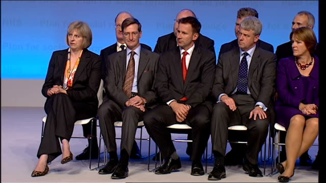 stockvideo's en b-roll-footage met day 2 william hague and david cameron speeches hague speech continued sot its no time for no change / that is why our excitement at our party's... - william hague