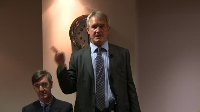 Philip Hammond attacks Corbyn in speech ***BEWARE Owen Paterson MP speaking at fringe event SOT if EU have not started serious discussions by...