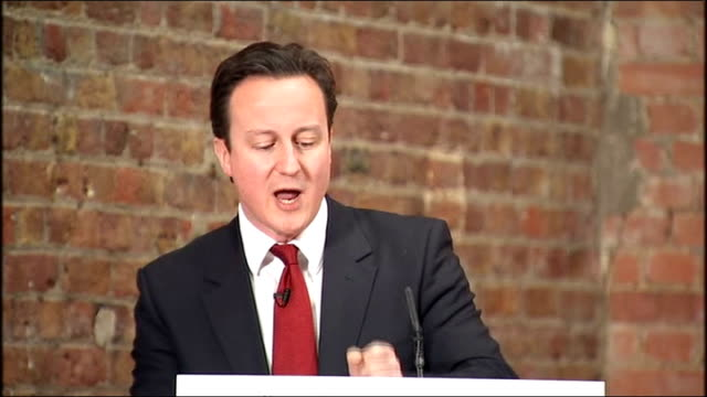 vidéos et rushes de david cameron speech at launch of network for the post bureaucratic age david cameron speech sot so it's about giving power to people and it's about... - impact