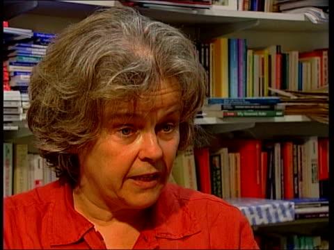 David Davis replaced as chairman ITN Professor Joni Lovenduski interviewed SOT Women came up against sexist remarks Theresa May along thru office to...