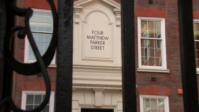 conservative party headquarters gvs; england: london: westminster: ext general views conservative party headquarters, four matthew parker street - conservative party uk stock videos & royalty-free footage