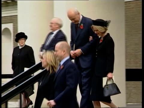 Howard announces leadership bid ITN London Acting Conservative Party Leader Iain Duncan Smith MP and wife Betsy and former Conservative Party Leader...